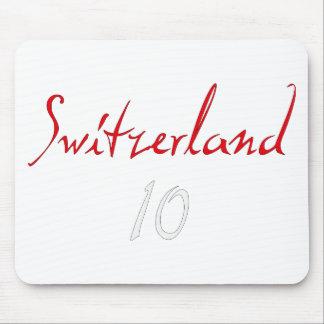¡Switzeland 10! Alfombrillas De Raton