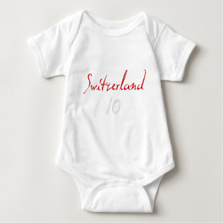 ¡Switzeland 10! Mameluco De Bebé