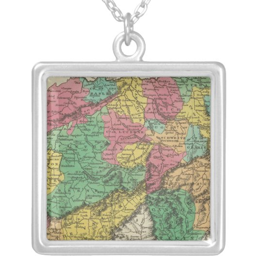 Switzerland 17 silver plated necklace