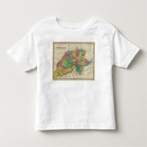Switzerland 17 toddler t-shirt