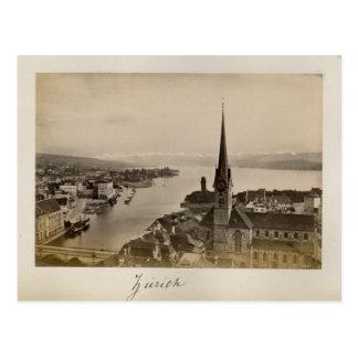 Switzerland 1908, Zurich Postcard