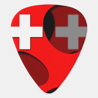 Switzerland #1 guitar pick