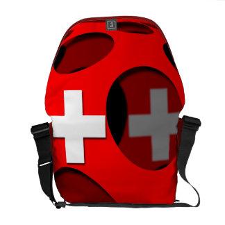 Switzerland #1 messenger bag