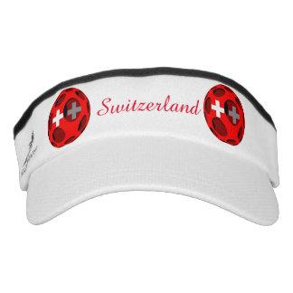 Switzerland #1 headsweats visor