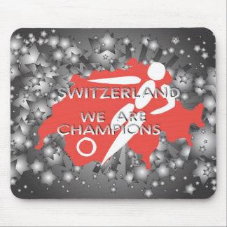Switzerland 2010 mouse pad