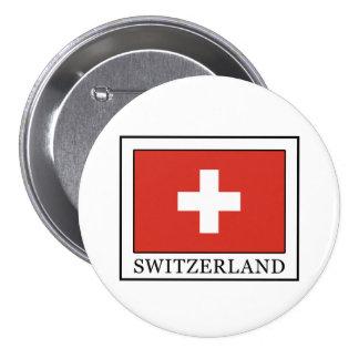 Switzerland 3 Inch Round Button