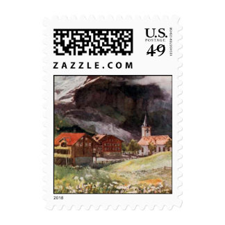 Switzerland (4) Small Postage Stamps