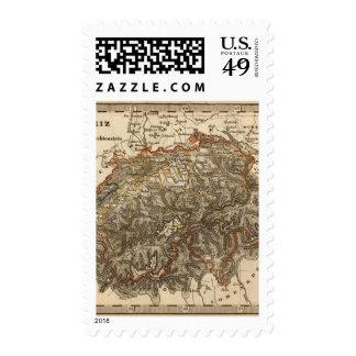 Switzerland 7 postage stamps