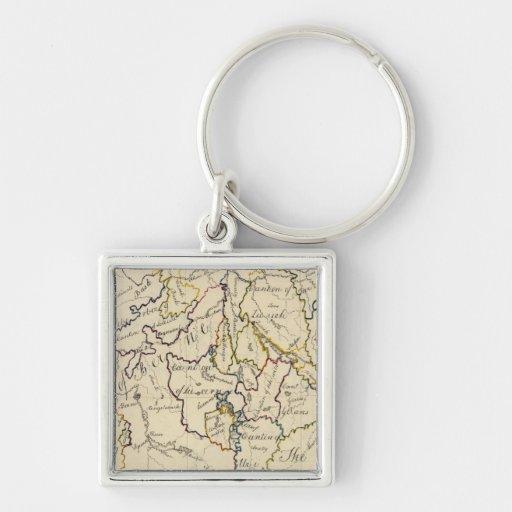 Switzerland 9 key chain