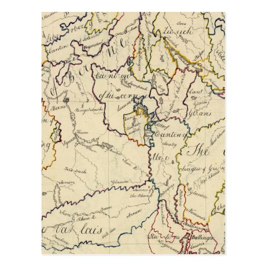 Switzerland 9 postcard