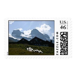 Switzerland Alpine Huts Postage