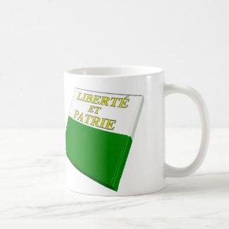Switzerland and Vaud Flags Coffee Mug