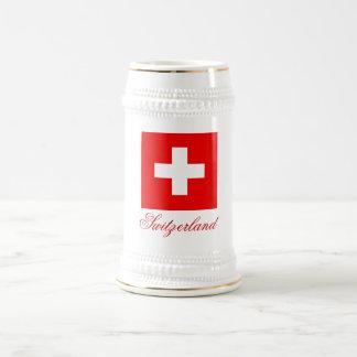 SWITZERLAND BEER STEIN