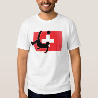 Switzerland Bicycle Kick Tee Shirt