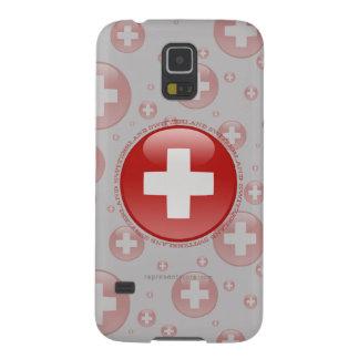 Switzerland Bubble Flag Galaxy S5 Cases