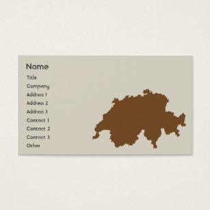 Switzerland business cards templates zazzle switzerland business business card colourmoves Image collections