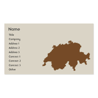 Switzerland - Business Double-Sided Standard Business Cards (Pack Of 100)