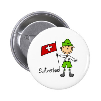 Switzerland Button