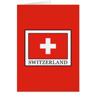 Switzerland Card