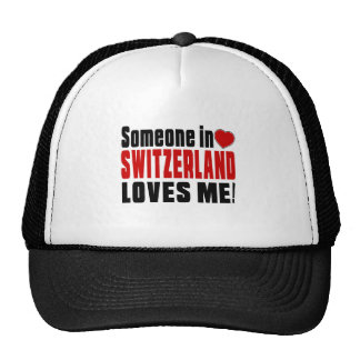 SWITZERLAND Celebrating Years Of Being Awesome Trucker Hat