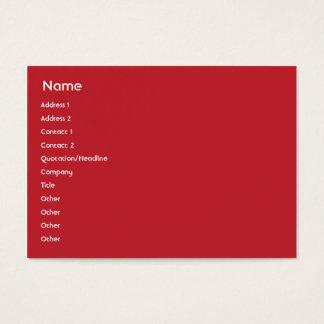 Switzerland - Chubby Business Card