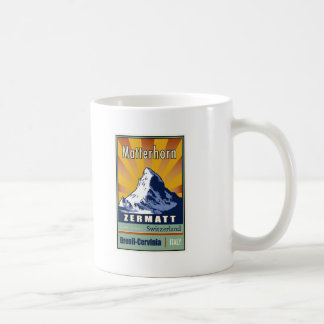 Switzerland Classic White Coffee Mug