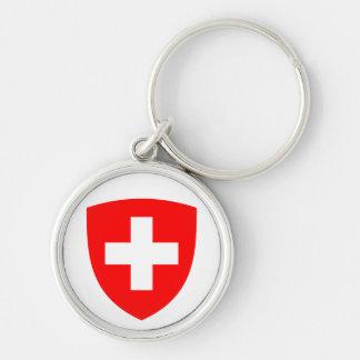 Switzerland Coat of Arms Keychain