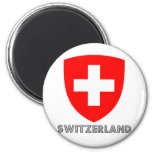 Switzerland Coat of Arms Magnets