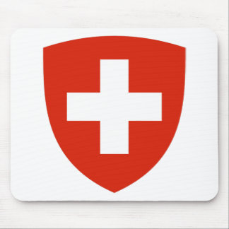 Switzerland Coat of Arms Mouse Pad