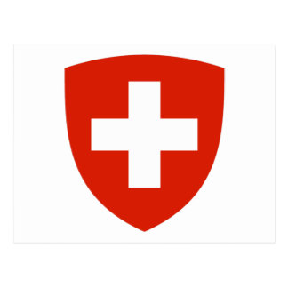 Switzerland Coat of Arms Postcard