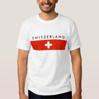 Switzerland country flag swiss nation symbol shirts