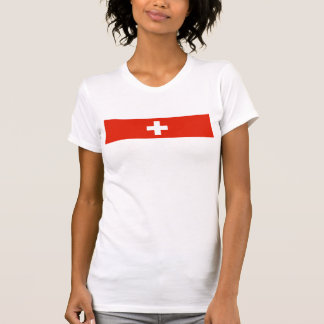 Switzerland country flag swiss nation symbol T-Shirt