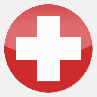 switzerland cross sticker