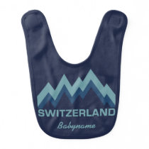 SWITZERLAND custom baby bib