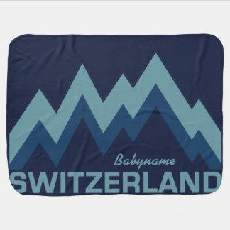 SWITZERLAND custom baby blanket