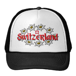 Switzerland Edelweiss Cap