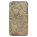Switzerland engraved map barely there iPod cases