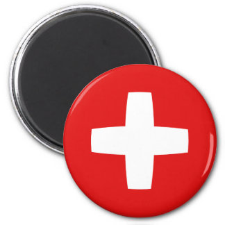 Switzerland Fisheye Flag Magnet