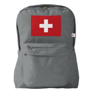 Switzerland Flag American Apparel™ Backpack