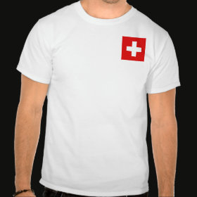 Selected Switzerland T-Shirt Front