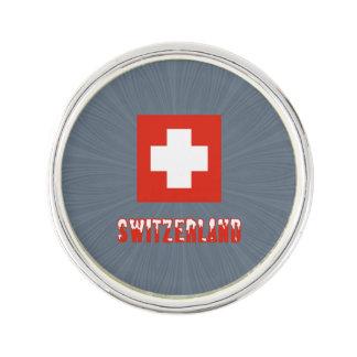 Switzerland Flag and Word