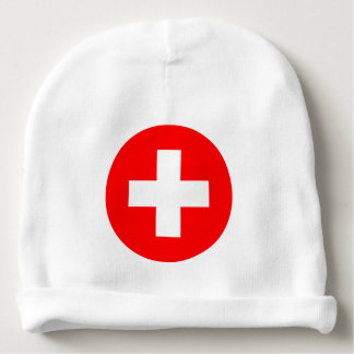 Switzerland Flag Baby Beanie