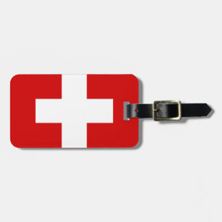 Switzerland Flag Bag Tag