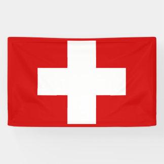 Switzerland Flag Banner