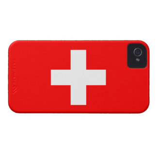 Switzerland Flag Barely There™ iPhone 4 Case