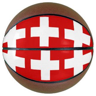 Switzerland Flag Basketball