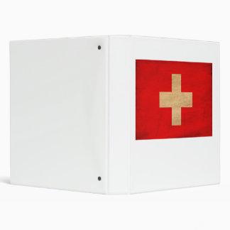 Switzerland Flag Binder