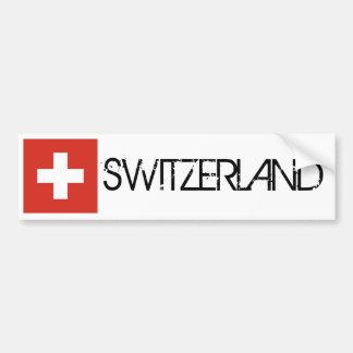 Switzerland Flag Bumper Sticker