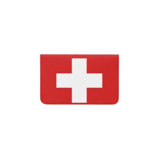 Switzerland Flag Business Card Holder