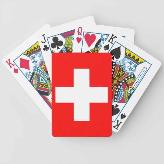 Switzerland Flag Cards